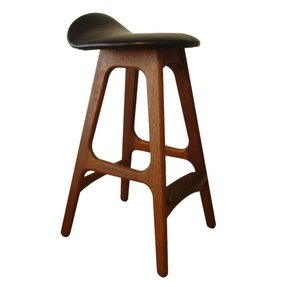 Leather saddle bar stool 2