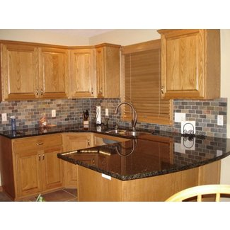 Peachy Oak Cabinets Ideas On Foter Complete Home Design Collection Barbaintelli Responsecom