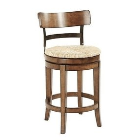 Rush Seat Counter Bar Stool Foter