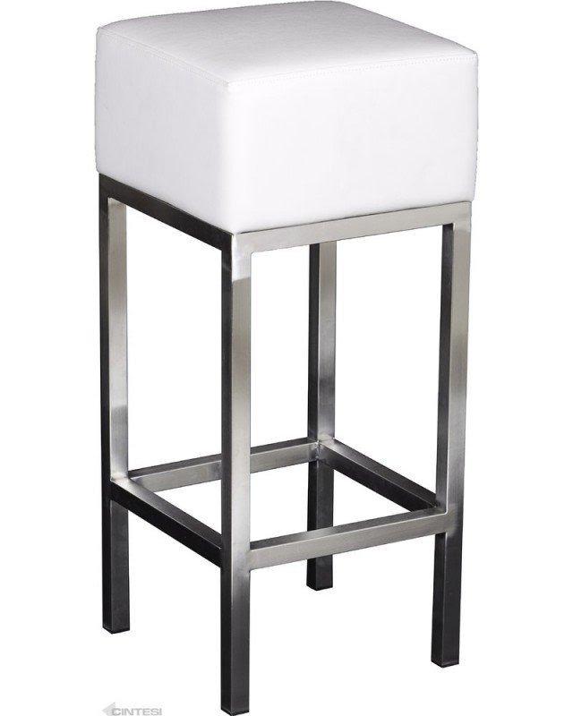 Stainless Steel Barstools 3