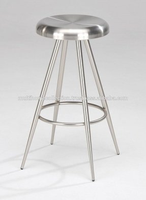 Stainless steel barstools 4