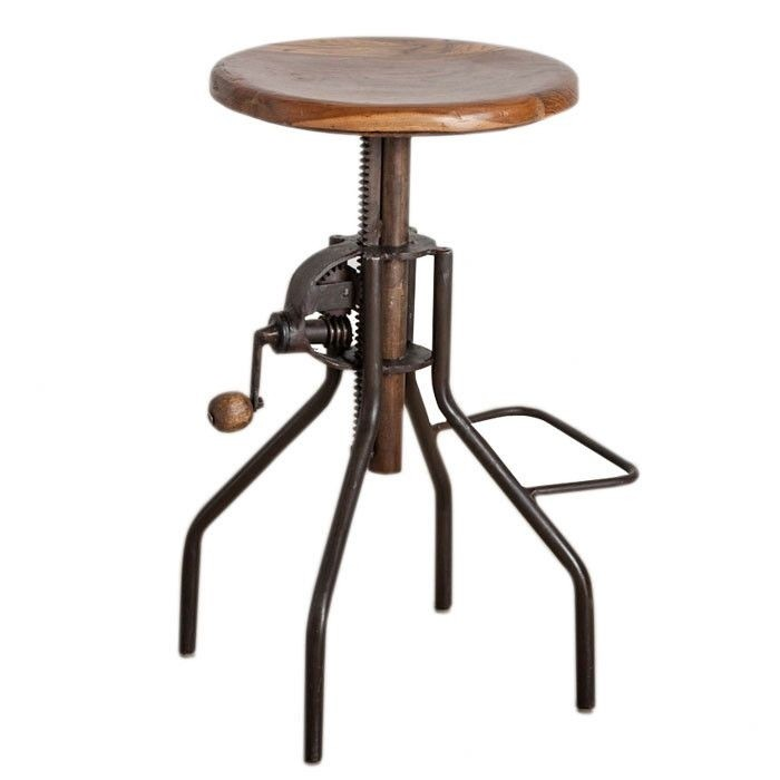 The Steampunk Lounge C.g. Sparks Crank Stool
