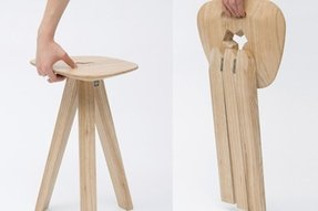 Three legged stool 5