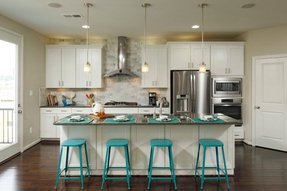 Turquoise Counter Height Stools