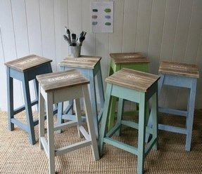 Fantastic Hand Painted Bar Stools Ideas On Foter Cjindustries Chair Design For Home Cjindustriesco
