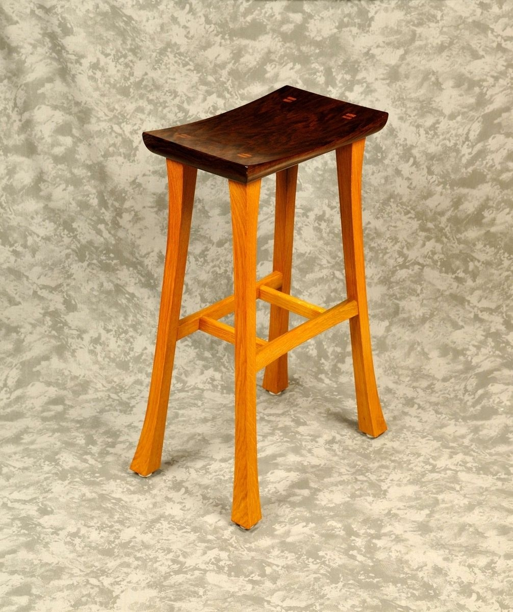 stool asian wood