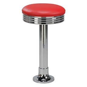 Bolt down bar stools