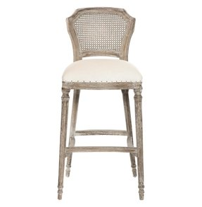 Cane back bar stool 2