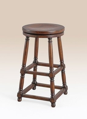 English style bar stool i like the turned legs and