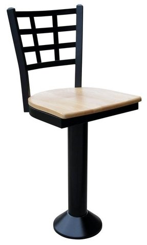 Floor mounted bar stools 1