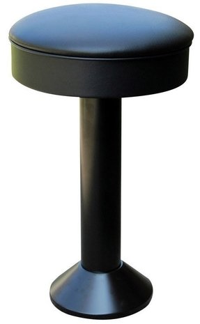 Floor mounted bar stools