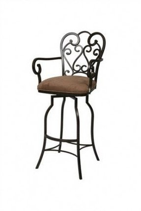 Iron bar stool