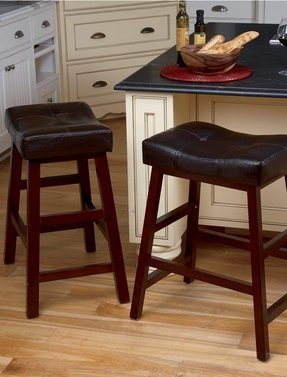 New Extra Wide Bar Stools