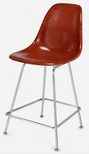 Modernica h base 25 in counter stool lots of colors
