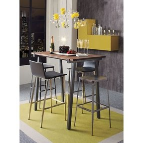 Steel square bar stools 2