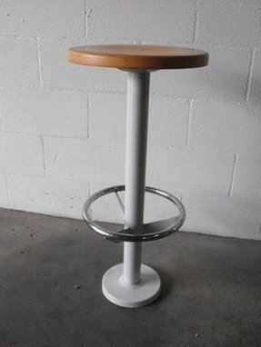 Wall mounted stool