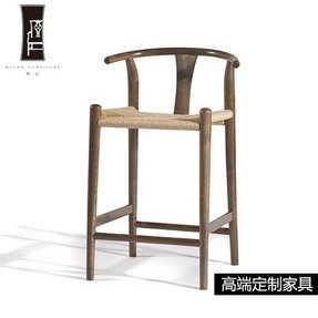 Xian counter stool medium walnut asian bar stools and counter