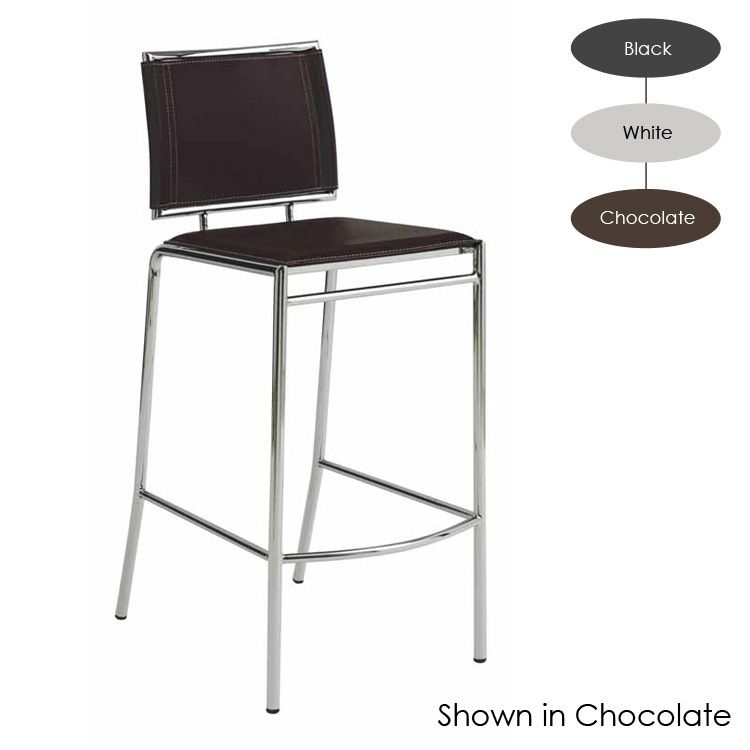 A Top Grain Upgrade With This Luxurious Leather Counter Stool