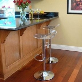 Acrylic swivel bar stools 2
