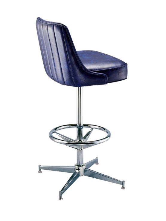 Blue Swivel Bar Stools 14
