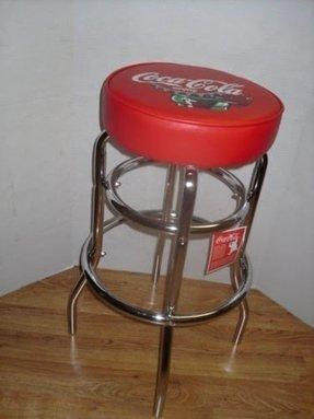 Chrome Coca Cola Bar Stools Foter