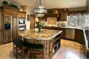 Granite Countertop Kitchen Island