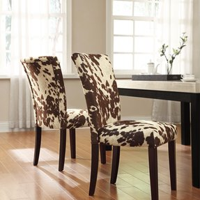 Cowhide Chair - Foter