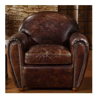Leather Cigar Chair Foter