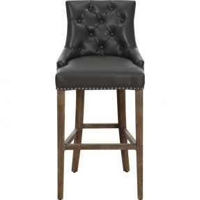 Leather top grain bar stools 1