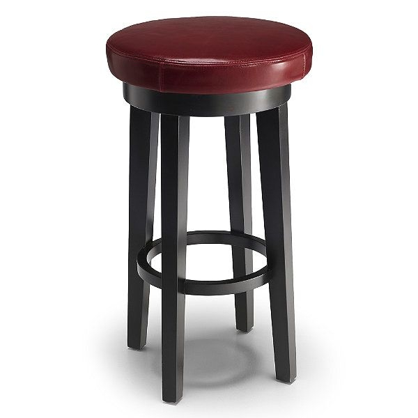 Charmant Leather Top Grain Bar Stools 8