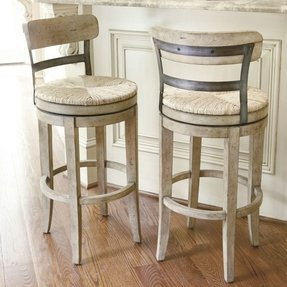 Wood Wicker Bar Stools Foter