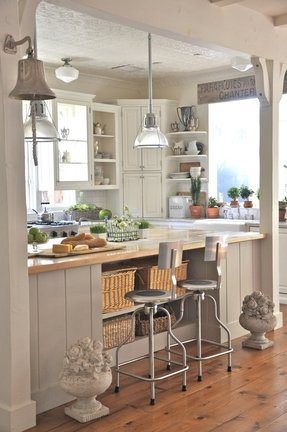 Modern kitchen stools