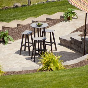 Outdoor saddle bar stools 24