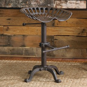 Outdoor saddle bar stools