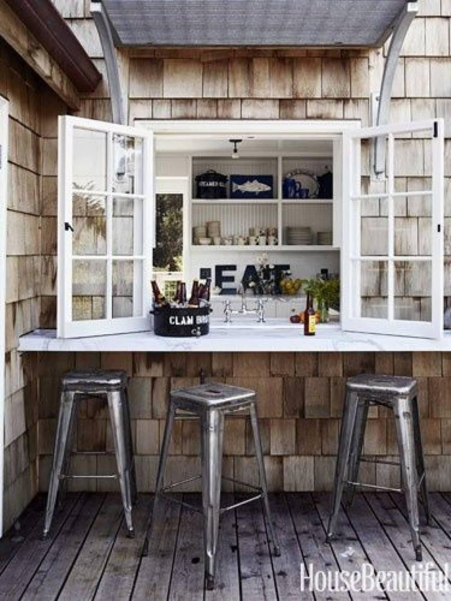 Outside Home Bar Ideas