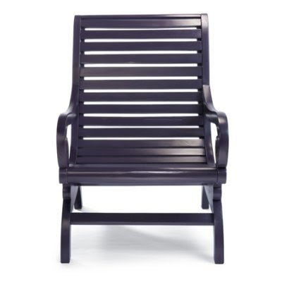 Merveilleux Plantation Chair   Eggplant   Grandin Road