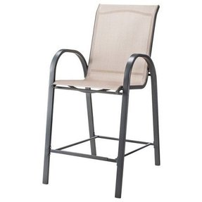 Wondrous Outdoor Sling Bar Stools Ideas On Foter Andrewgaddart Wooden Chair Designs For Living Room Andrewgaddartcom