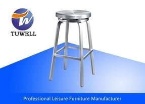 Steel round bar stools