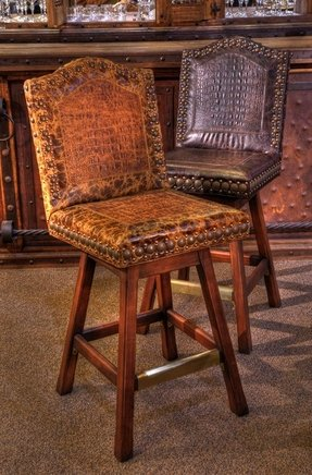 Western Leather Bar Stools Foter