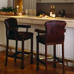 Arm chair bar stool 19