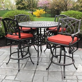 Bar Set Outdoor Aluminum Patio 1