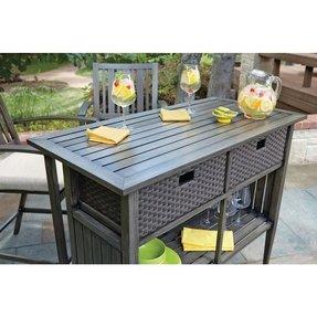 Bar Set Outdoor Aluminum Patio 4