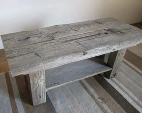 Barnwood farmhouse bench 1