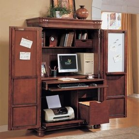 Riverside Computer Armoire Foter