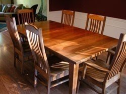 Craftsman Style Dining Table 4