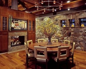 Dining Room Table Lazy Susan - Foter