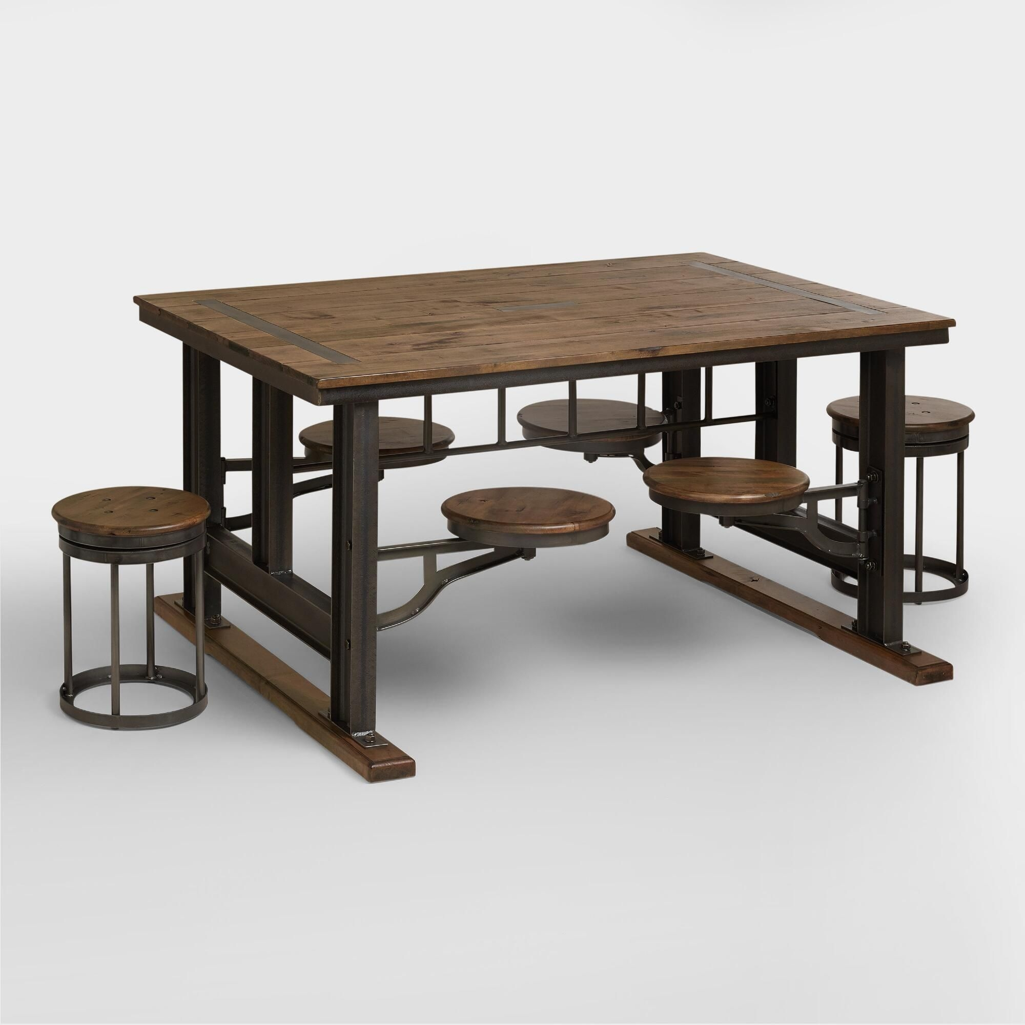 Exceptional Industrial Style Dining Table