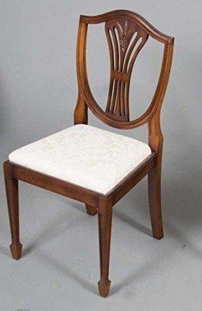 Mahogany Wheat Sheath Chair Set
