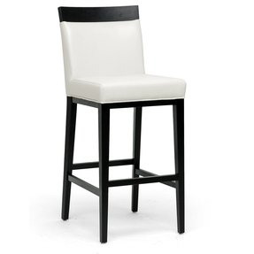 Prime Cream Leather Bar Stools Ideas On Foter Evergreenethics Interior Chair Design Evergreenethicsorg