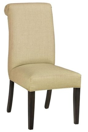 Roll back parsons dining chair 1